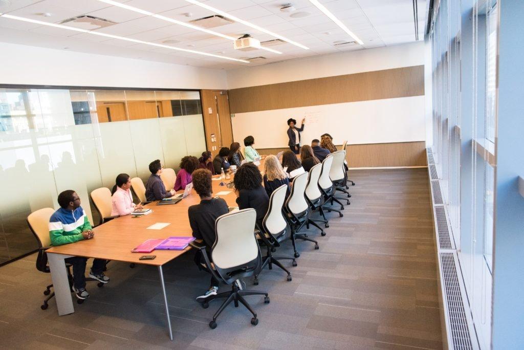 reunião sobre projetos